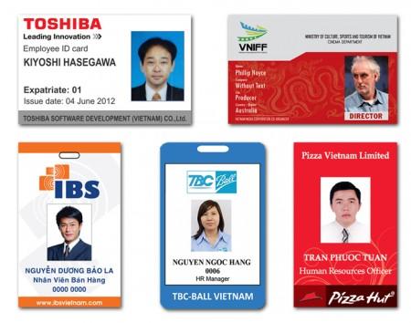 Thẻ nhựa PVC - Thẻ nhân viên